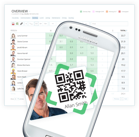Instant Timesheets - QR Code time and attendance